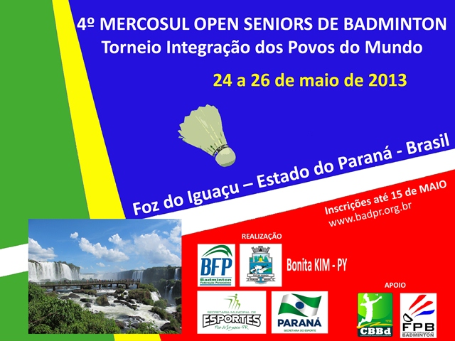 4º Mercosul Open Seniors de Badminton
