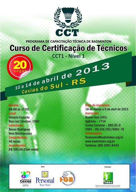 Curso de Certificação de Badminton
