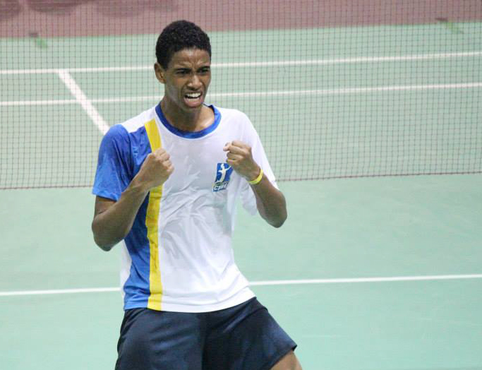 Atleta da Associação Miratus, Ygor Coelho representa Brasil no Mundial de badminton (Fonte: CBBd)