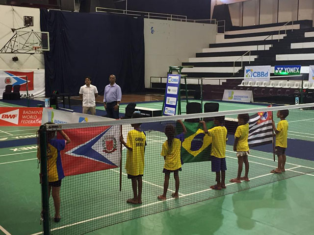 I Brazil International Junior de Badminton