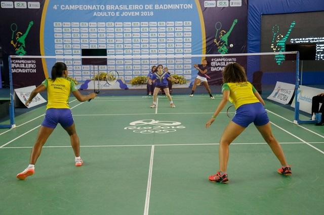 4º CAMPEONATO BRASILEIRO DE BADMINTON - FINAIS