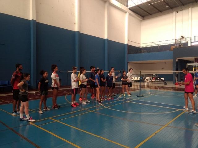 1ª Clínica Nacional de Badminton Juvenil 2019