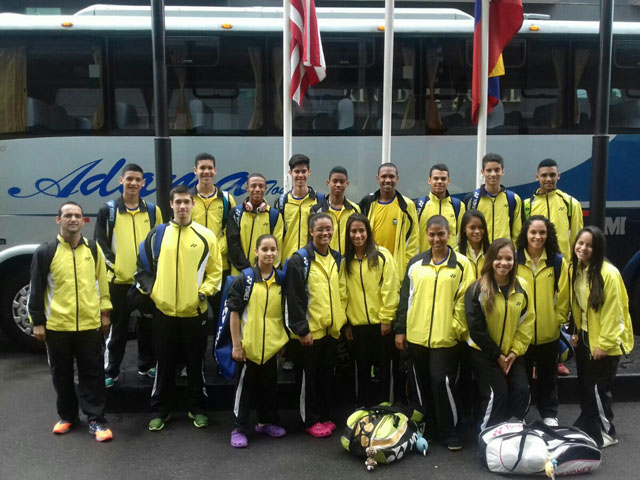 PANAM JUNIOR 2016 - EQUIPES