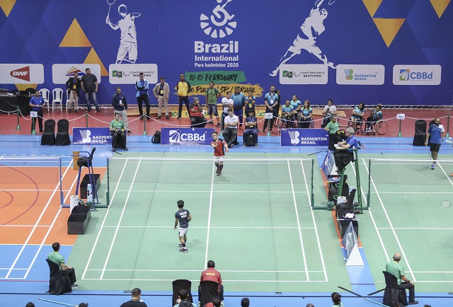 BRAZIL PARABADMINTON INTERNATIONAL