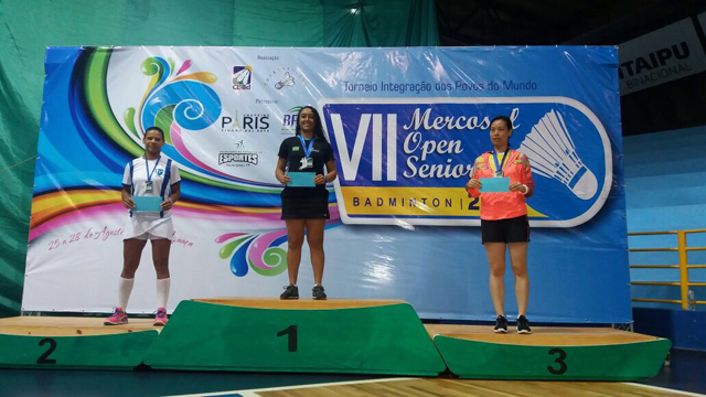 7º Mercosul Open Seniors de Badminton - Foz do Iguaçu/PR
