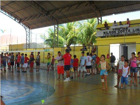 Projeto desenvolvido pelo Centro de Treinamento de Badminton em Fortaleza (CE)