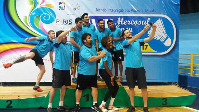 7º Mercosul Open Seniors de Badminton - Foz do Iguaçu/PR