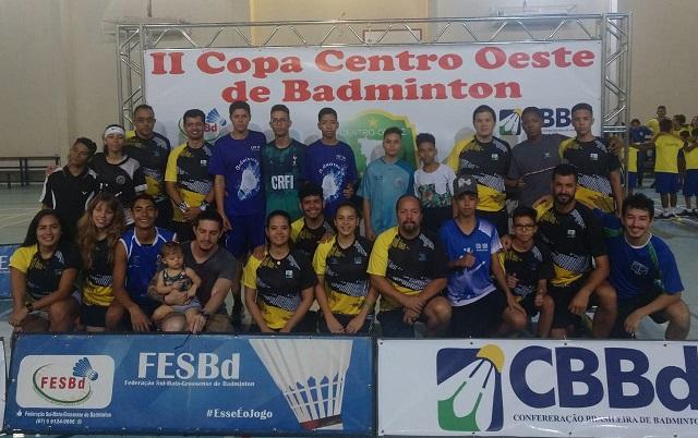 II COPA CENTRO OESTE DE BADMINTON