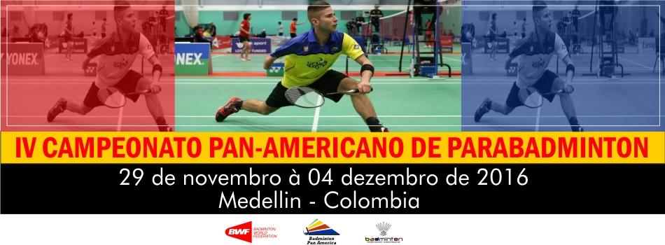 Carta Convite do IV Campeonato Pan-Americano de Parabadminton � divulgada pela CBBd