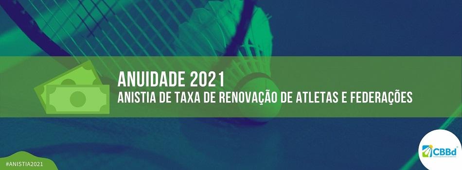 CBBd anistiará taxas de renovação de filiação de atletas e federações em 2021, entenda!