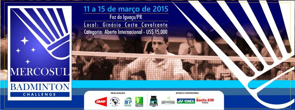 Confira tabela dos Jogos e Lista de Inscritos para o 3� Mercosul Badminton Challenge