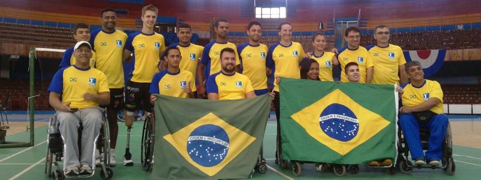 Parabadminton do Brasil promove sua melhor campanha em torneios internacionais