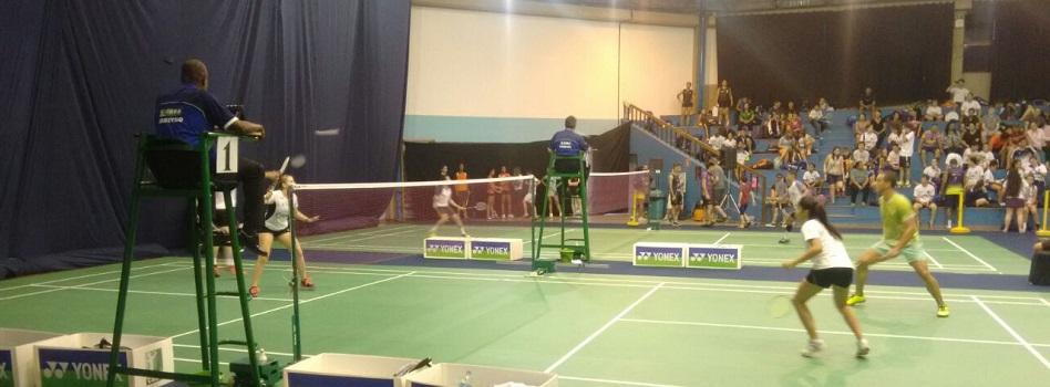 Confira os resultados finais da Etapa de Curitiba de Badminton