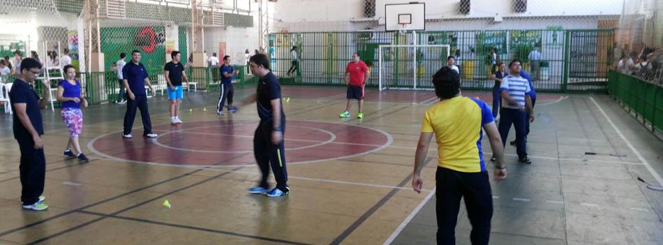 Projeto Shuttle Time Brasil promove capacita��o de badminton escolar em Teresina/PI
