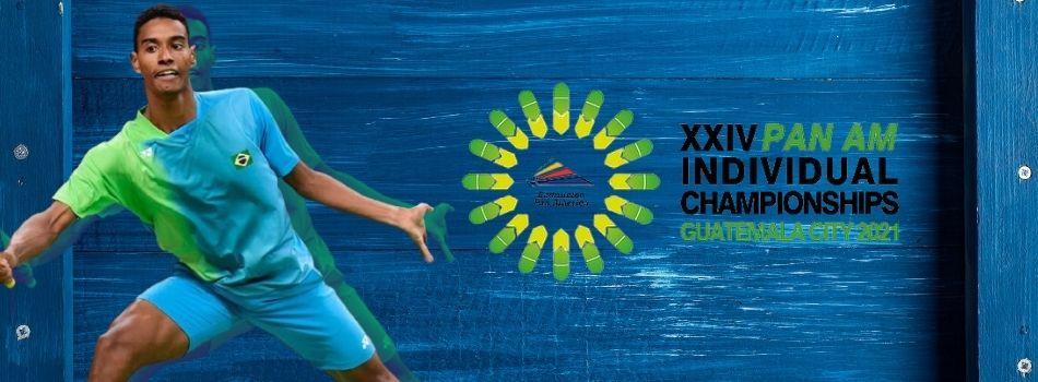 Ygor Coelho vence na estreia do Pan Am da Guatemala e joga pelas oitavas de final nesta sexta-feira