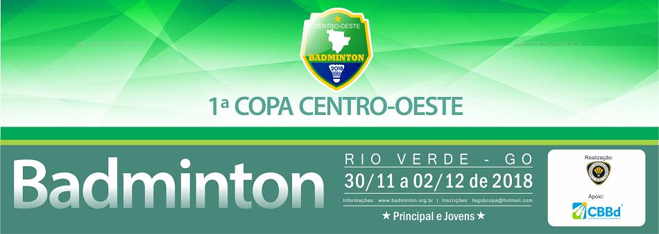 Rio Verde/Go sediará 1ª Copa Centro-Oeste de Badminton
