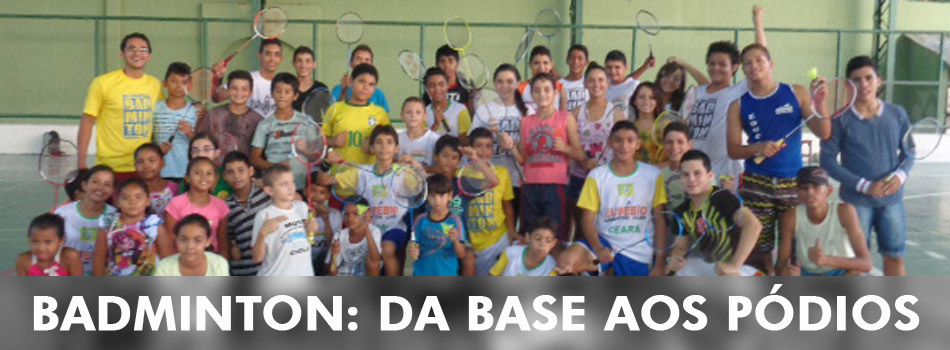 De maneira in�dita, CBBd garante desenvolvimento de base do badminton nas regi�es do Brasil.
