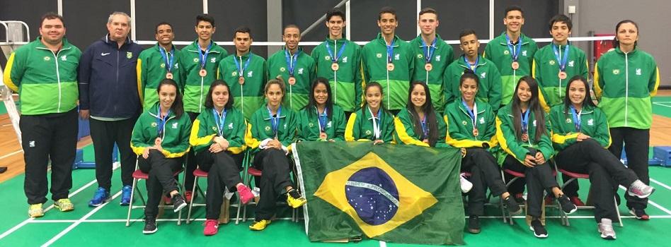 Brasil é bronze no XXVI PANAM Júnior
