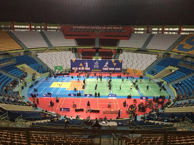 Emoções das quartas de final do Brasil Parabadminton acontecem nessa quinta-feira