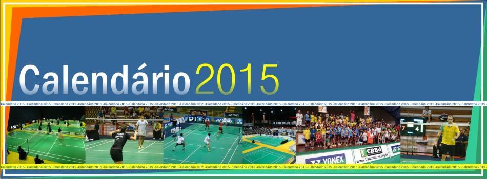 Badminton brasileiro j� conta com Calend�rio 2015 de torneios. Confira!