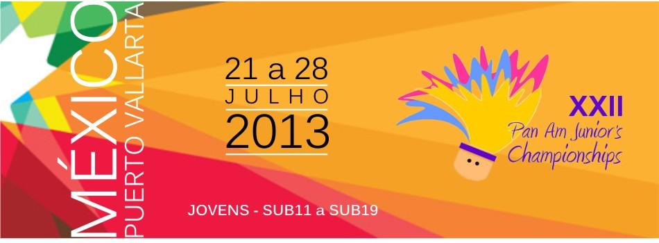Campeonato Pan-americano Júnior 2013 (Fonte: CBBd)