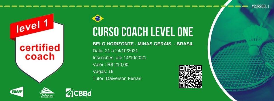 CBBd divulga lista de aprovados para o curso Coach Level - Belo Horizonte