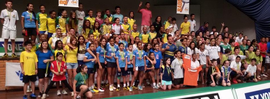 �ltima etapa do ano do Nacional de Badminton revela seus campe�es e campe�s