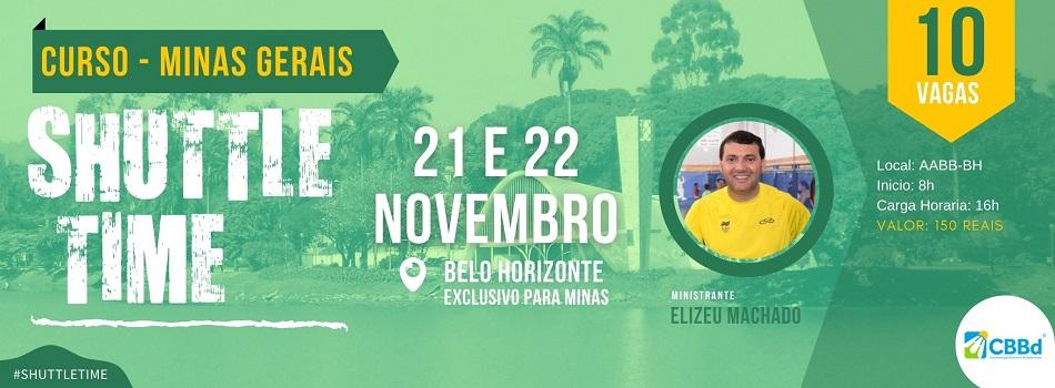 Minas tem inscrições abertas para Shuttle Time em Belo Horizonte com 10 vagas.