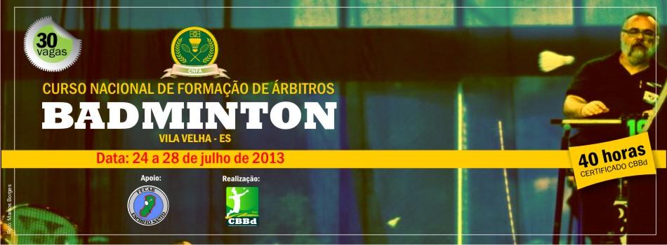 CBBd realiza Curso Nacional de Formação de Árbitro em Vila Velha (ES)
