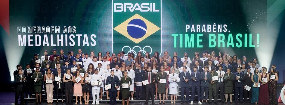 Prêmio Brasil Olímpico homenageou campanha histórica do badminton no Pan Lima 2019