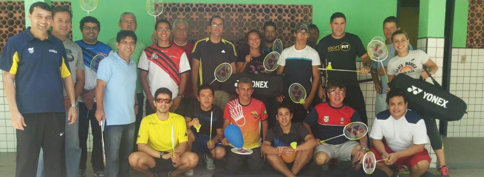 Na capital do Cear� projeto Shuttle Time Brasil promove capacita��o de badminton escolar