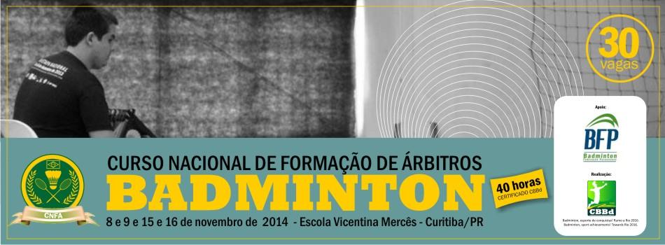 Curitiba recebe edi��o do Curso Nacional de Forma��o de �rbitro