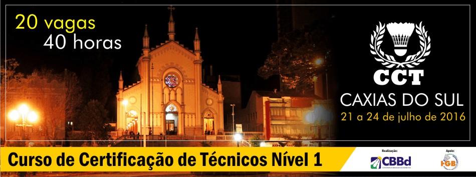Caxias do Sul recebe mais uma edi��o do Curso de Capacita��o T�cnica, N�vel 1. Inscri��es abertas.