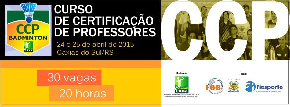 Organiza��o divulga  lista de Participantes do Curso de Certifica��o de Professores (CCP) no RS