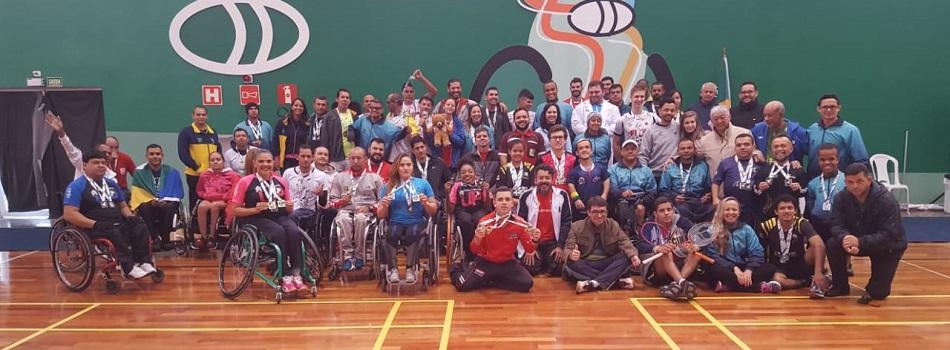 Brasil conhece seus novos campeões após realização da II Etapa Nacional de Badminton Paralímpico
