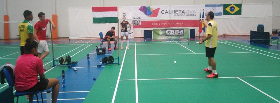 Cl�nica pr�-game de Badminton � sucesso e exemplo de inova��o em treinamento