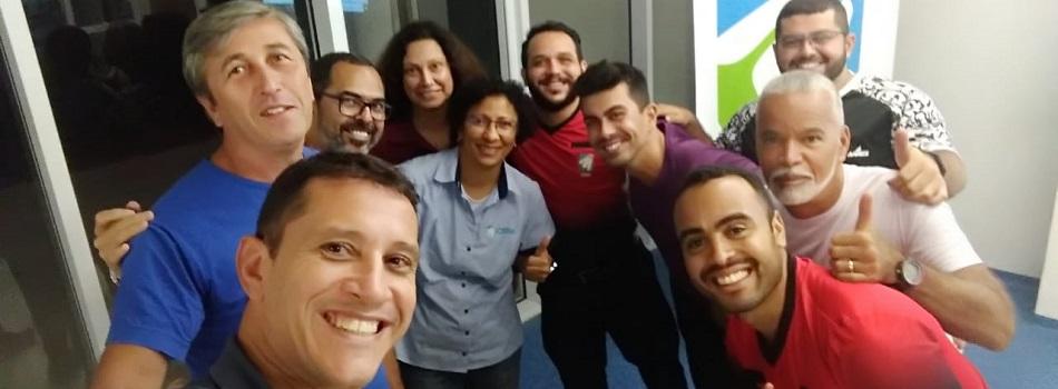 Treinamento de com árbitros brasileiros finaliza com bons resultados