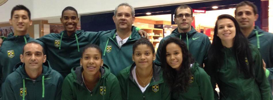 J� em Toronto, Sele��o Brasileira est� confiante nas vit�rias e pede ajuda da torcida brasileira.