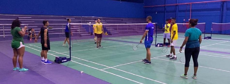 Seleção Brasileira de Badminton inicia treinos no CT do Piauí