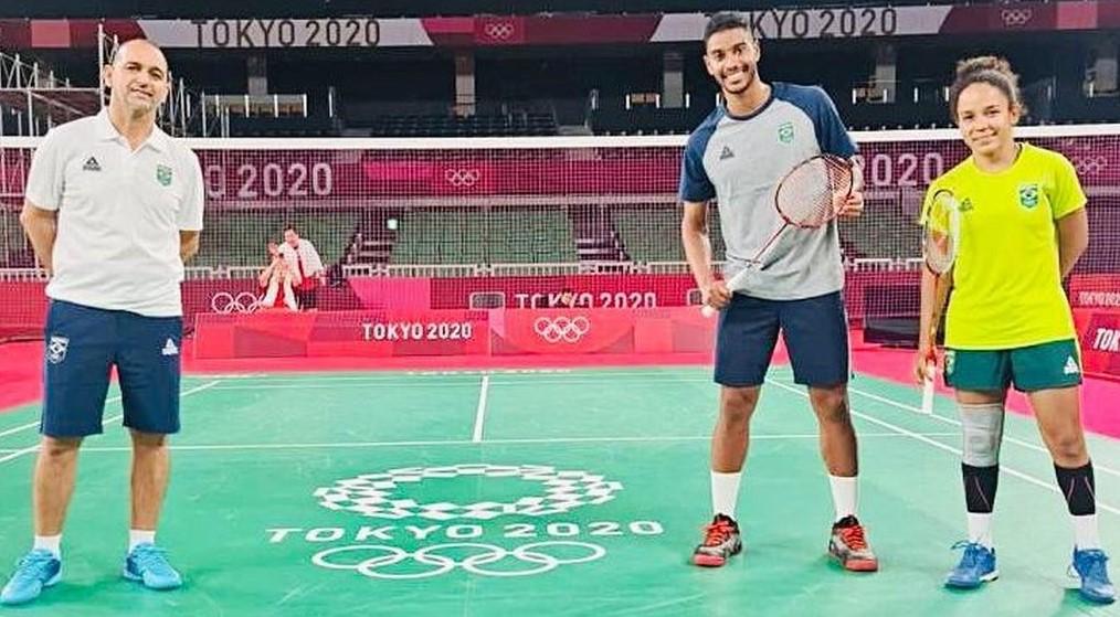 Fabiana Silva e Ygor Coelho querem fazer história no badminton brasileiro