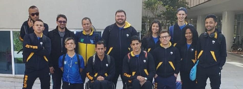 Seleção Brasileira de Parabadminton segue para Mundial na Suíça.