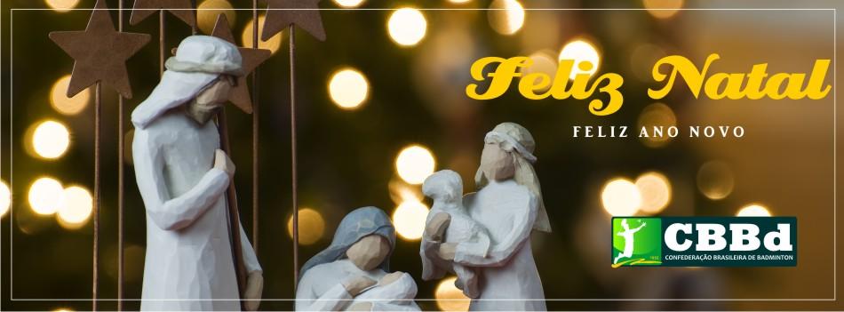CBBd celebra o natal com mensagem especial � fam�lia Badminton Brasil