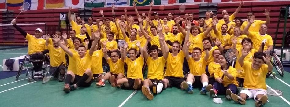 Cbbd confederao brasileira de badminton i camp internacional de para badminton realizado no brasil em so paulo fandeluxe Choice Image