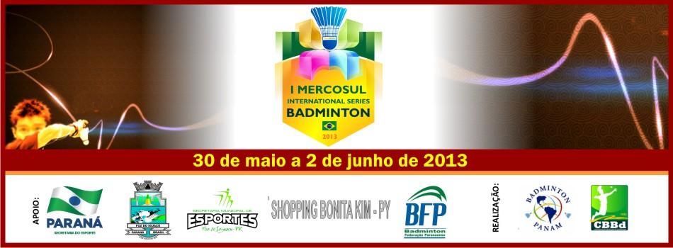 Divulgada lista de inscritos para o 1º Mercosul Internacional de Badminton (Fonte: CBBd)