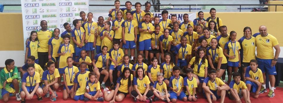 Brasil domina �ltimo campeonato internacional do ano no pa�s