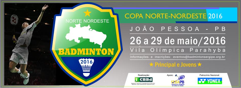 Em maio, Copa Norte Nordeste de Badminton promete grandes disputas em Jo�o Pessoa/PB