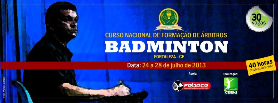 Fortaleza sediará Curso Nacional de Formação de Árbitro realizado pela CBBd.