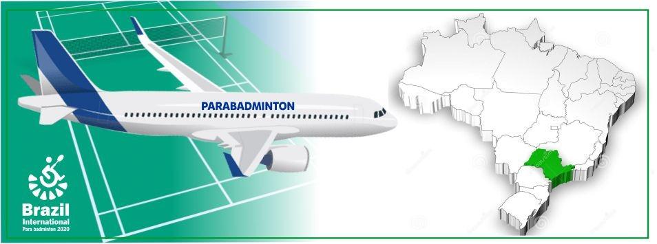 Brazil Parabadminton International, embarque conosco nessa aventura