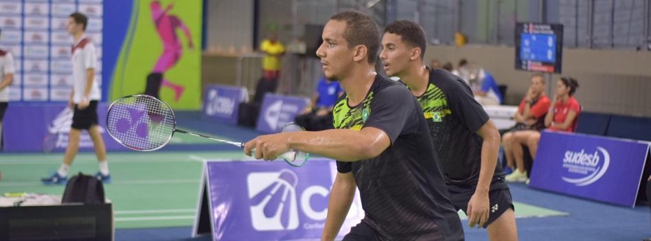 Brasil avança nas duplas no International Challenge Open da Áustria