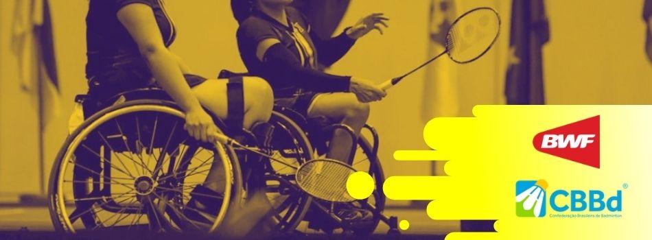 CBBd e BWF contemplarão atletas femininas de parabadminton com bolsa de apoio financeiro